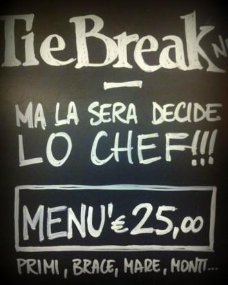 Tie Break ristorante Roma zona Flaminio