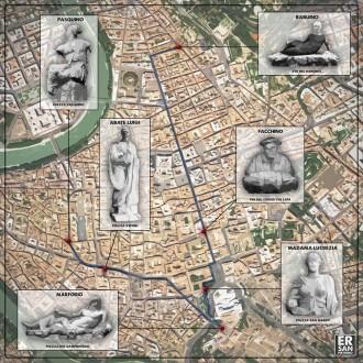 statue parlanti di roma